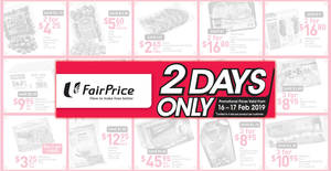 Fairprice: 2-days offers – Haagen-Dazs, 100Plus & more! Ends 17 Feb 2019