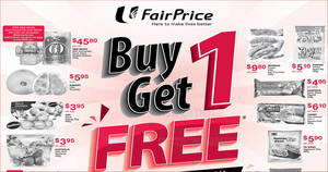 Fairprice offers Buy-1-Get-1-free on over 35 items – New Moon, Chicken-in-a-Biskit & more! From 21 – 27 Feb 2019