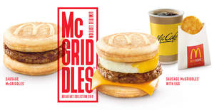 Featured image for McDonald's McGriddles to return at almost ALL outlets from 28 Feb 2019