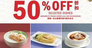 Featured image for Paradise Group celebrates milestone of 100 outlets worldwide with 50% off selected dishes till 30 Apr 2019