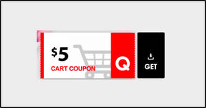 Qoo10: Grab free $5 cart coupons (usable with min spend $30) valid till 7 July 2020