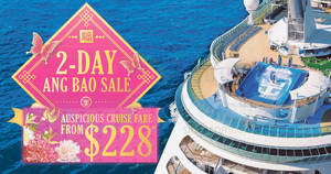 Featured image for Royal Caribbean is offering cruises fr $228 for two-days only till 8 Feb 2019