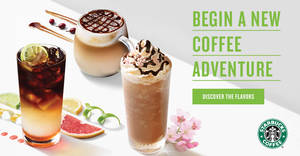 Starbucks launching new beverages – Cascara Macchiato, Triple Citrus Cold Brew & Sakura Rose Mocha Frappuccino from 20 Feb 2019