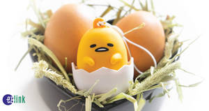 EZ-Link releases new Gudetama EZ-Charm from 15 Mar 2019