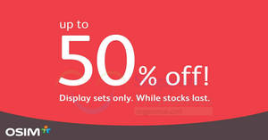 Featured image for OSIM Clearance Sale at Changi City Point has offers of up to 50% OFF from now till 31 March 2019