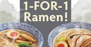 Featured image for Sō Ramen to offer 1-for-1 ramen at one selected outlet every Monday from 1 – 29 April 2019