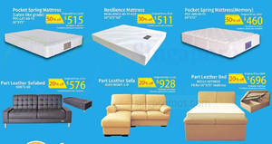 Featured image for Sea Horse: Up to 50% off selected furniture – mattresses, sofa & more till 20 Mar 2019