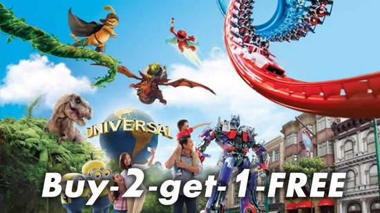 Featured image for 4 DAYS ONLY! Buy-2-Get-1-Free Universal Studios Singapore adult tickets from 14 - 17 March 2019