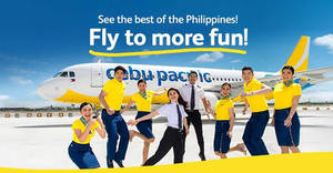 Cebu Pacific Air is offering fares to Philippines destinations fr $95 all-in till 28 August 2019