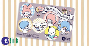 EZ-Link releases new Sanrio Characters card design from 25 April 2019