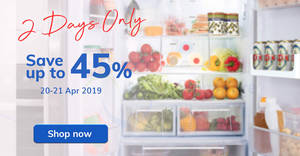 Fairprice: 2-days offers – Frozen Hokkaido Scallop, Magnum, Yeo's & more! Ends 21 Apr 2019