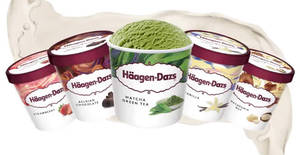 Haagen-Dazs ice cream pints are going at 2-for-$19.90 (U.P. $29) at Giant till 15 April 2020