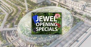 Jewel Changi Airport: Over 100 wondrous shopping and dining deals are happening till 26 May 2019