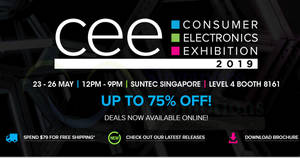 Creative CEE 2019 deals with discounts of up to 75% off are available online till 26 May 2019