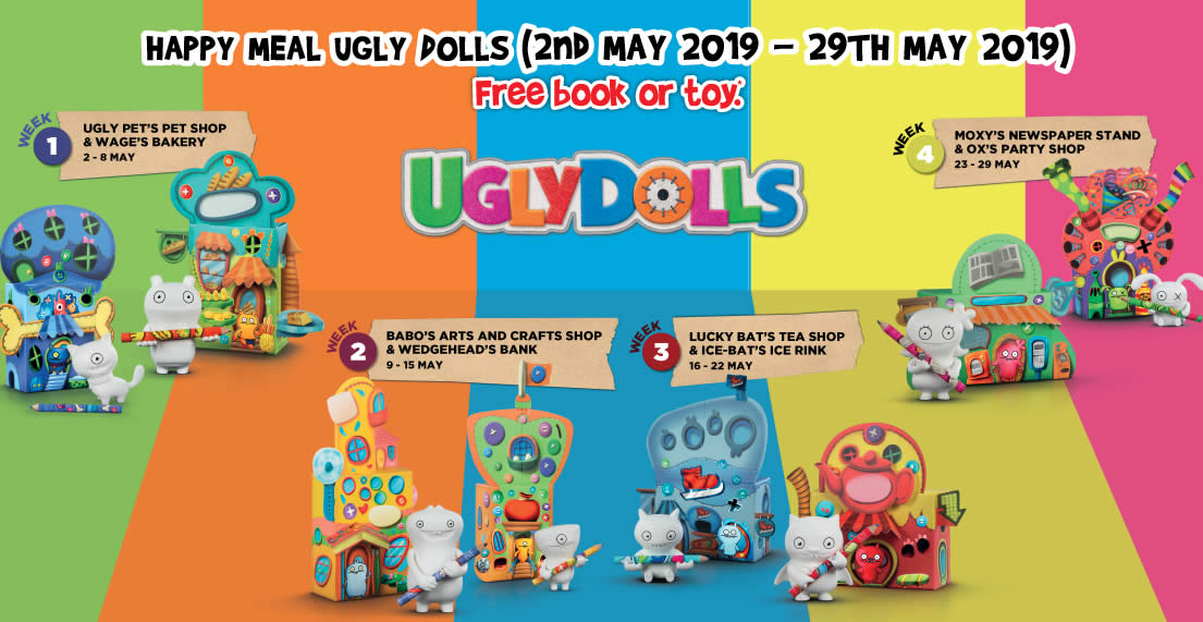 McDonald's: Get a free UglyDolls toy or Treetop Twins