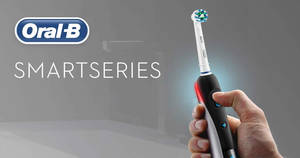 Featured image for 24hr deal: 75% off Oral-B SmartSeries 6500 CrossAction Electric Toothbrush till 16 May 2019