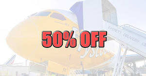Scoot: 50% off over 55 destinations ONE-day sale on Tuesday, 18 June 2019!