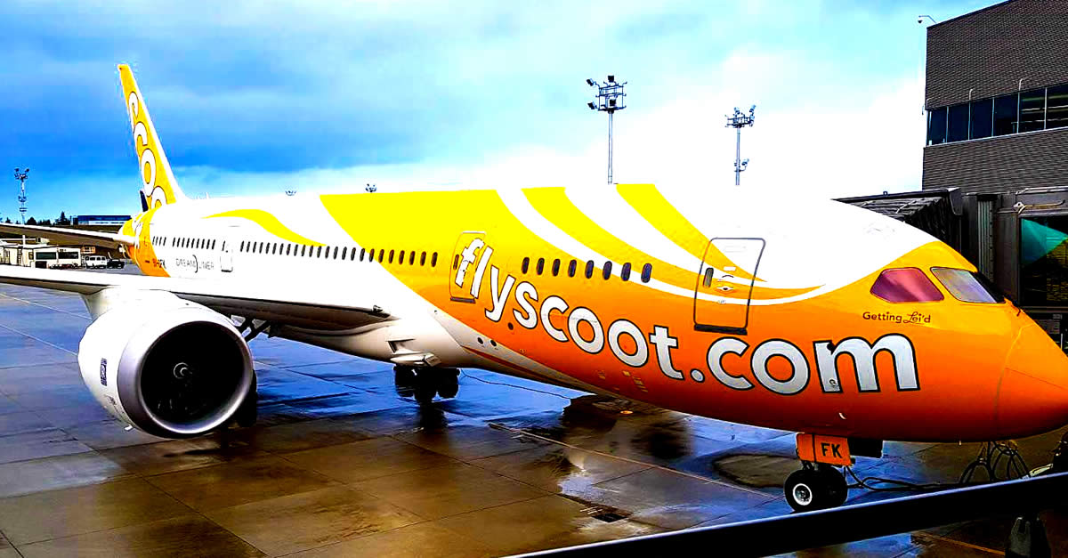 Scoot ONE-DAY Only Sale! Fares Fr $79 All-in To 27