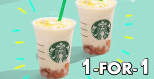 Starbucks to offer 1-for-1 Yuzu Honey Jelly Yogurt Frappuccino from 27 – 31 May 2019