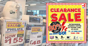 BEST Denki clearance sale returns with discounts of up to 80% off from 19 – 30 June 2019