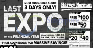 Featured image for Harvey Norman Last Expo of Financial Year from 7 – 9 June 2019