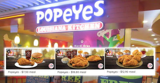 Featured image for Enjoy special deals at Popeyes with these NDP coupon deals valid till 31 Dec 2019