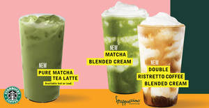 Starbucks will be launching a new wave of summer beverages from 17 July 2019
