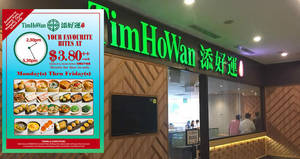 Tim Ho Wan Singapore's Tea Time Promo is back by demand at Jurong Point, Westgate and Citylink outlets from 9 July 2019