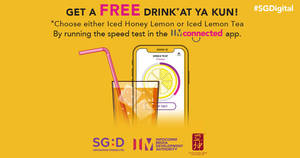 Check if your mobile broadband is up to speed with IMconnected x Ya Kun!