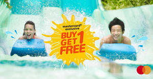 Featured image for Adventure Cove Waterpark 1-for-1 (Buy One Get One Free) FLASH Sale till 6 Sept 2019