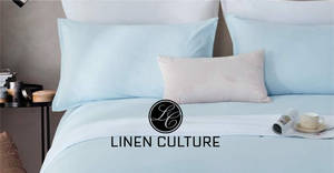 Bedorigin.com.sg Linen Culture Bed Sheet Super Mark Down from $23 for 5 days only! From 24 to 28 Aug 2019