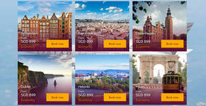 Featured image for Qatar Airways is offering fares to Europe starting from $899 for travel from 1 Sep 2019 – 20 May 2020. Book by 6 August 2019