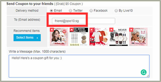 Featured image for How to send a Qoo10 Singapore Coupon as a gift to your friend