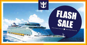 Featured image for Royal Caribbean FLASH SALE – 50% off Cruise Fares fr $322 (UP $644), Kids Cruise Free & More Till 30 August 2019