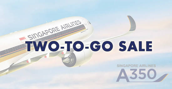 Singapore Airlines feat 2 Aug 2019