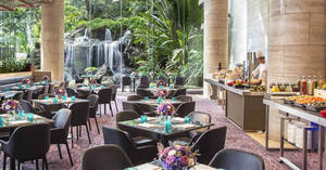 The Dining Room (Sheraton Towers Singapore): 1-for-1 lunch buffet with DBS/POSB cards till 31 October 2019