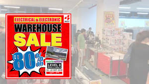 BEST Denki Warehouse Sale at Ang Mo Kio Has Discounts of Up To 80% Off (18 – 22 Sep 2019)