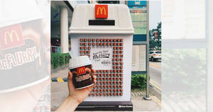 Free McDonald's Hershey's treat at selected bus stops from 20 – 22 Sep 2019