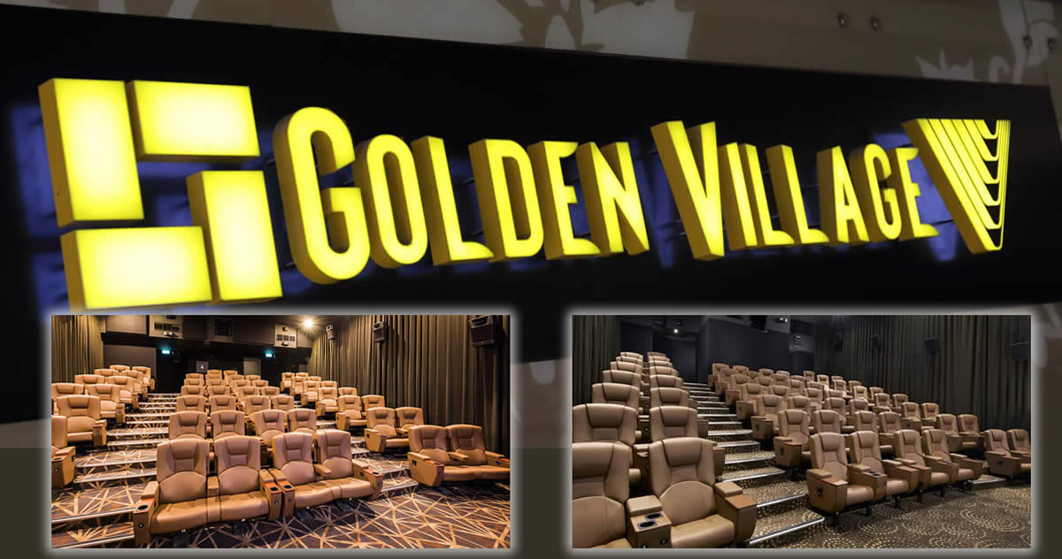 Golden Village is offering $12 premium seats with this promo