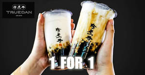 Featured image for Jenjudan: 1 FOR 1 Signature A1 Brown Sugar Boba Milk at Orchard Gateway & CityLink Mall outlets from 14 – 16 Sep 2019