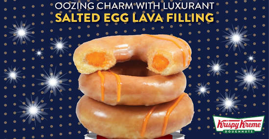 Featured image for Krispy Kreme to launch new Salted Egg Original Glazed® from 7th September 2019