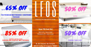 LFOS Opening Special (21st Sep to 31st Oct 2019)