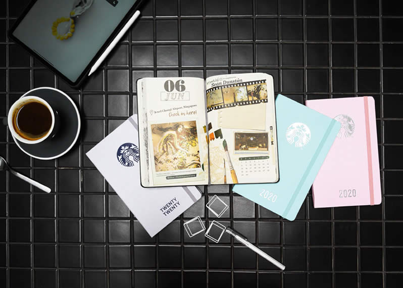 starbucks 2020 planner by moleskine is now available  from