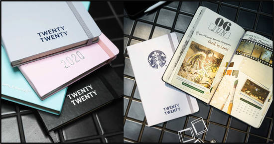 Featured image for Starbucks 2020 Planner by Moleskine is now available (From 24th Sep 2019)