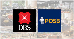 There are over 45 1-for-1 buffet and dining deals with DBS/POSB cards