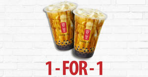 Gong Cha: 1-for-1 Brown Sugar Fresh Milk with Pearl for SAFRA cardholders from 23 – 25 Oct 2019