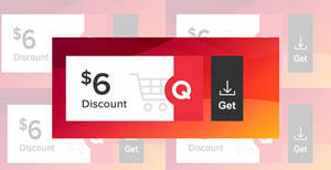 Qoo10: Grab free $6 cart coupons (usable with min spend $40) valid till 12 August 2020