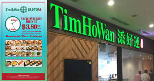 Featured image for Tim Ho Wan's $3.80 Tea-Time Promotion is back by demand at selected outlets from 29 October 2019
