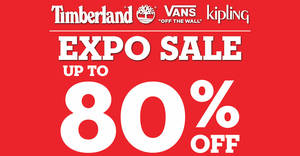 There's a Timberland and Vans sale with discounts of up to 80% off from 17 – 20 October 2019