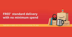 Amazon.sg now offers free delivery with no minimum spend till 31 Dec, 2019